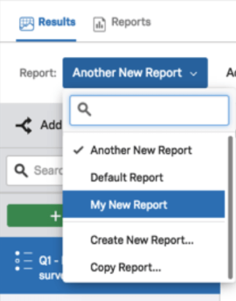Results-Reports Basic Overview - Qualtrics Support