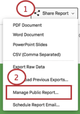 results reports basic overview qualtrics support