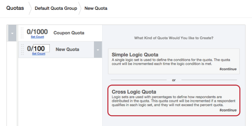 Quotas qualtrics support fandeluxe Images