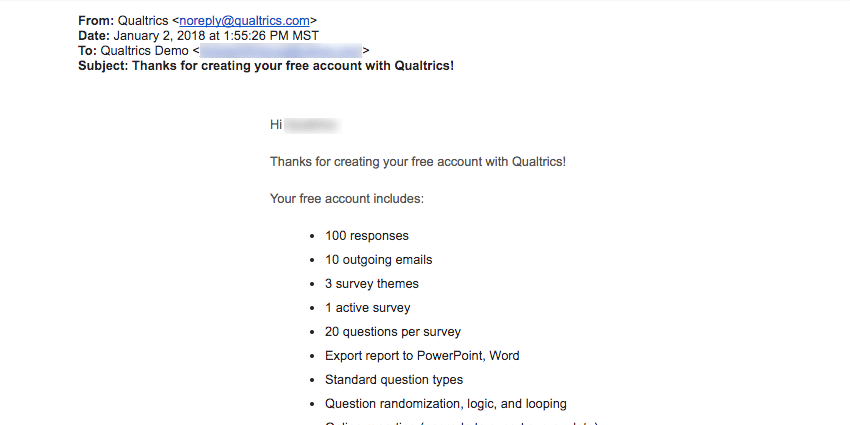 Creating an Account & Logging In - Qualtrics Support