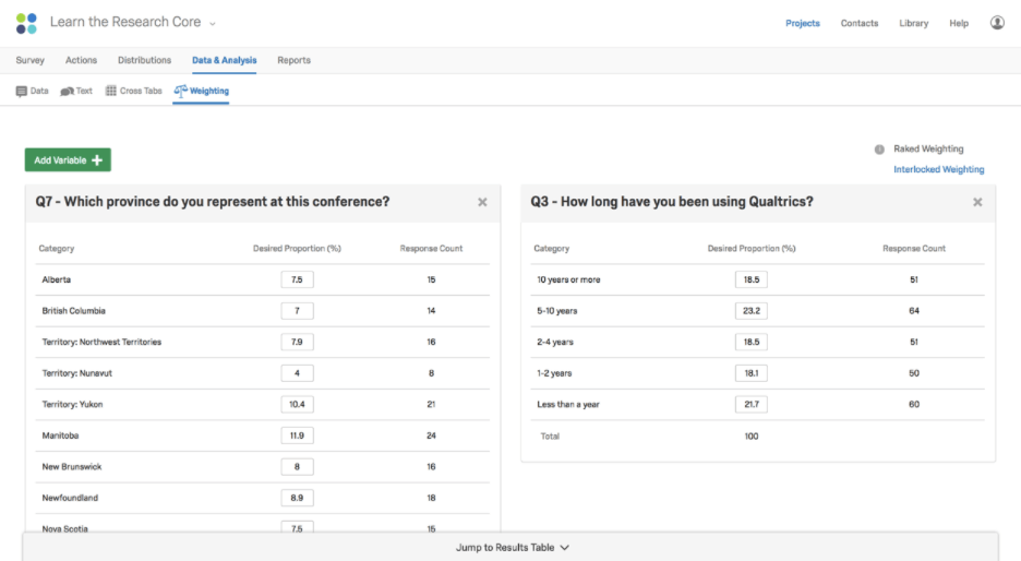 Data Analysis Basic Overview Qualtrics Support