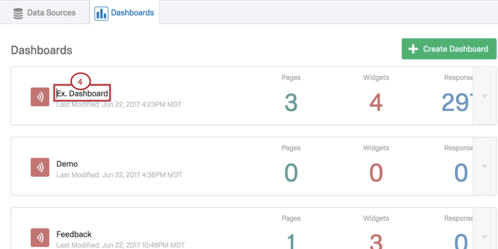 Step 1: Managing CX Dashboards - Qualtrics Support
