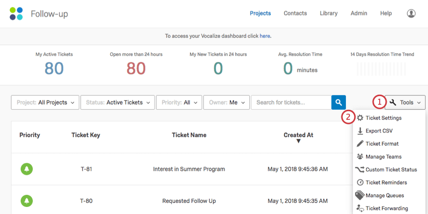 Ticket forwarding qualtrics support opening tools on the ticket page fandeluxe Image collections