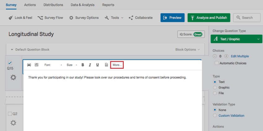 insert a downloadable file qualtrics support