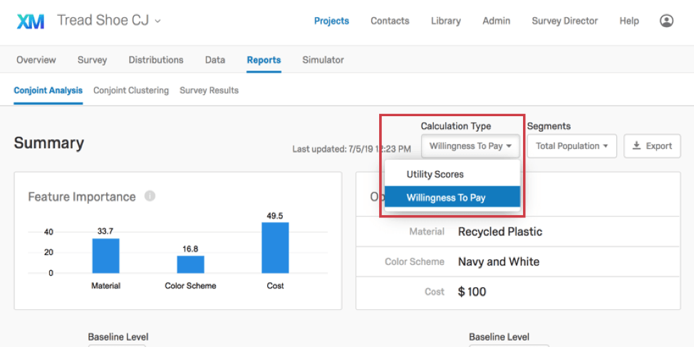 Conjoint Analysis Reports (PX) - Qualtrics Support