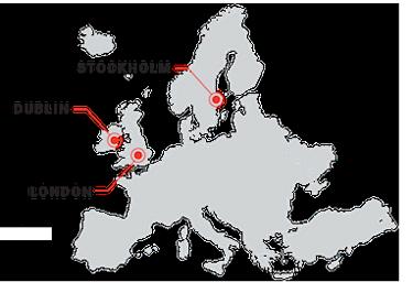 Qualtrics Map - Europe