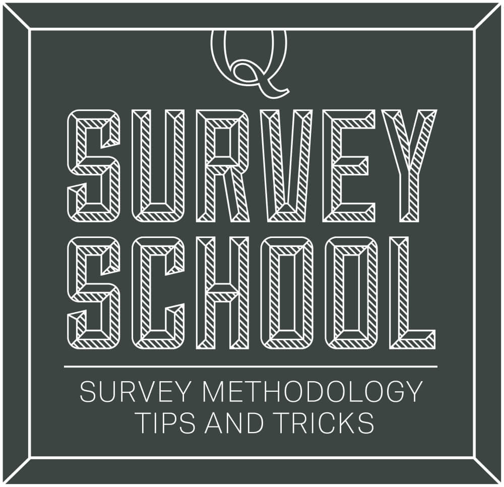 4 things you need to know about your respondents before you survey surveymethodology logonew spiritdancerdesigns Images