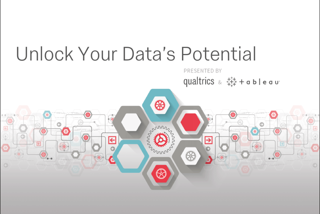 Unlock Your Data's Potential by Integrating Qualtrics With Tableau [Webinar]