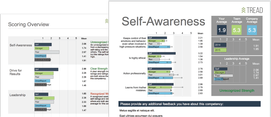 360-Degree Feedback Dashboard